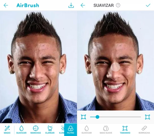 AirBrush - photo editing apps for Android
