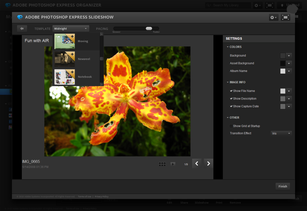 smartphone photo editing applications