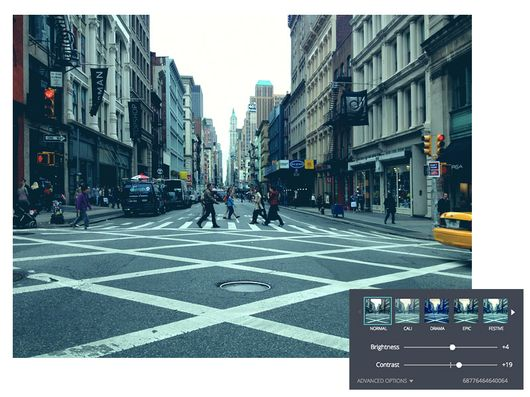 Canva a photo enhancement tool