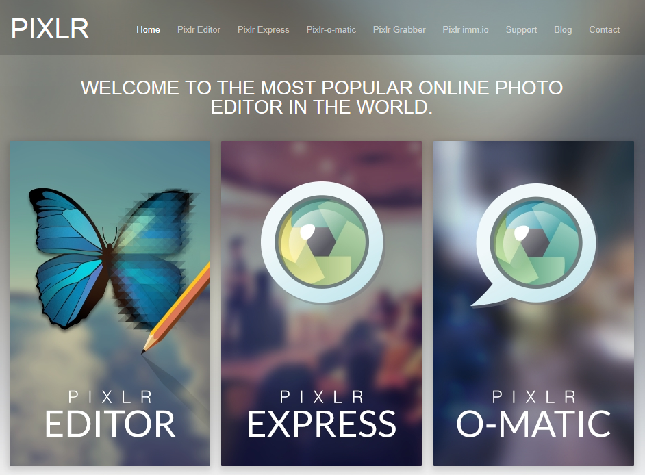 The most popular photo editor app