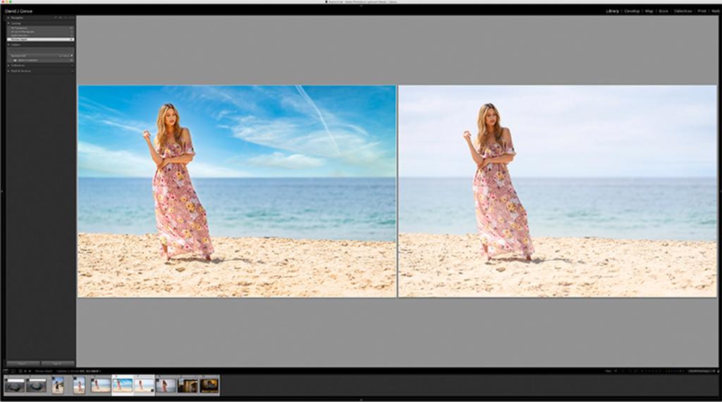 photo editor on a smartphone
